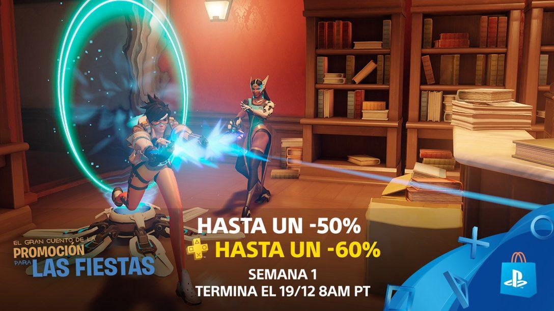 La Promoción para las Fiestas de PlayStation Empieza con Hasta 55% de Descuento