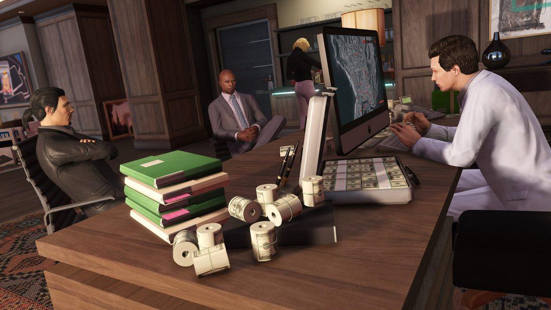Este es Criminal Enterprise Starter Pack para GTA Online