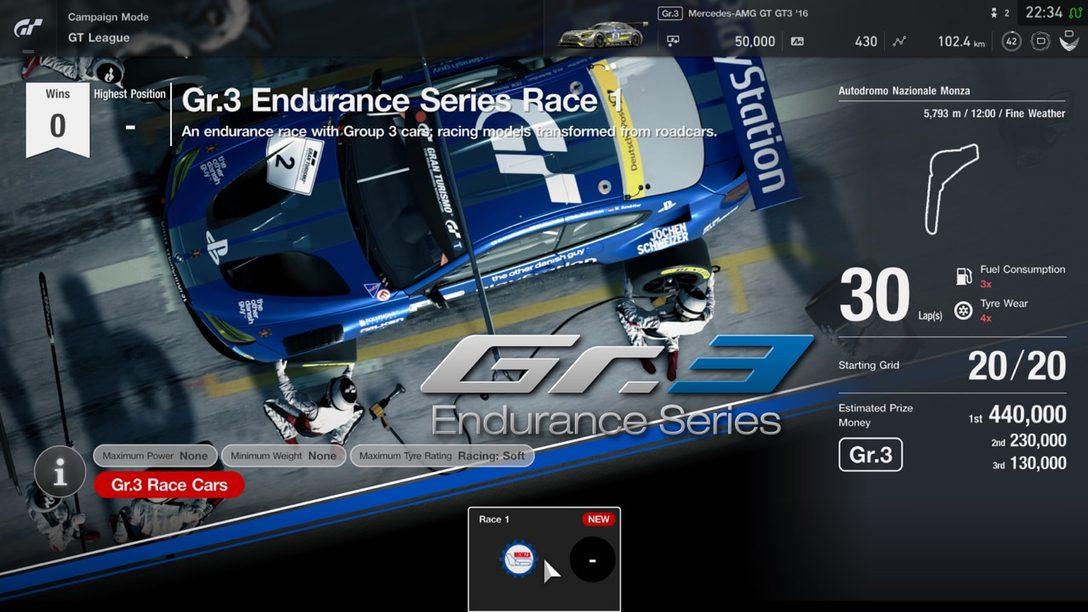 El Parche 1.11 de Gran Turismo Sport se Lanza Mañana, Incluye Nuevos Autos, Pistas, Actualizaciones de GT League