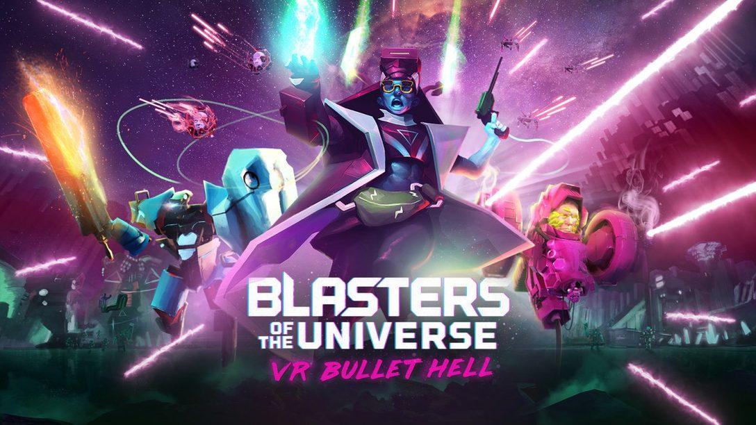 Blasters of the Universe Desata Un Infierno de Balas en PlayStation VR el 27 de febrero