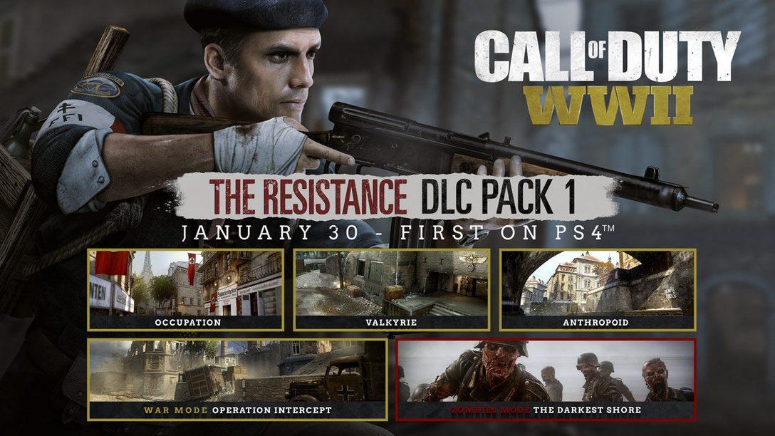 Call of Duty: WWII – The Resistance: Detalles de los Nuevos Mapas Multiplayer