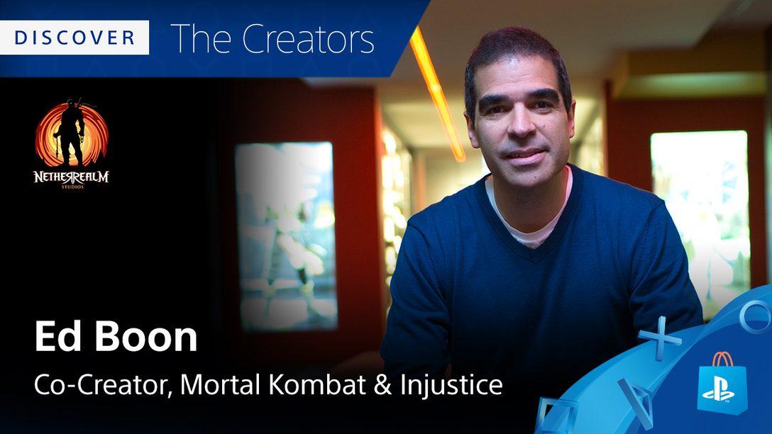 Descubriendo a los creadores: los Juegos Favoritos de PS4 para Ed Boon