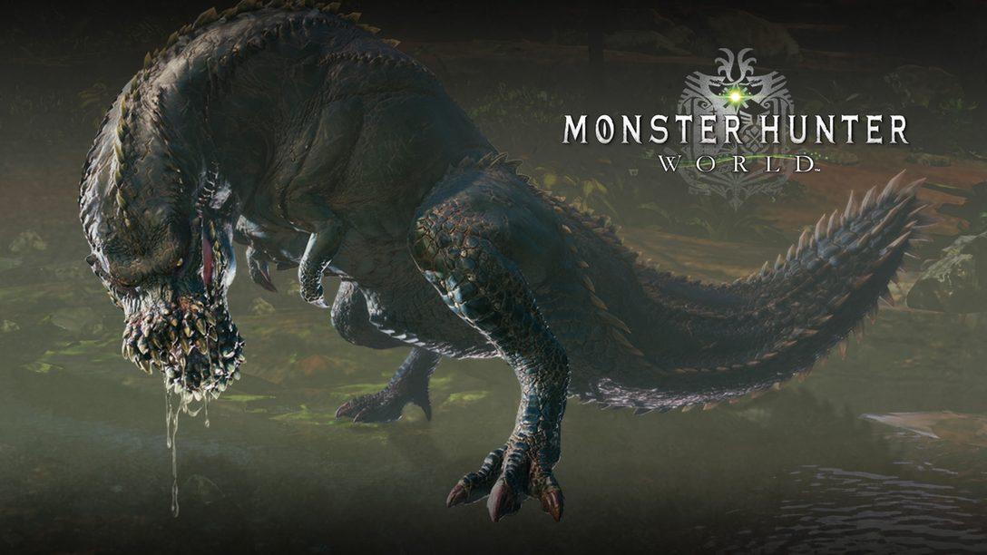 Enfrenten el Temible Deviljho en la Más Reciente Actualización de Monster Hunter. ¡Ya Disponible!