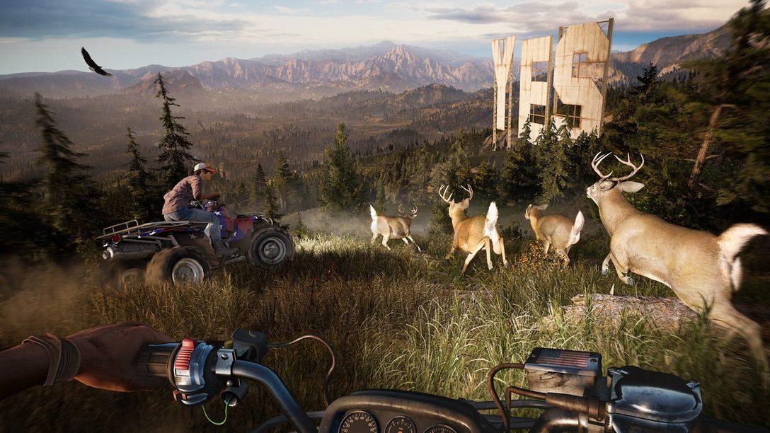 La Generación por Procedimientos del Mundo de Far Cry 5