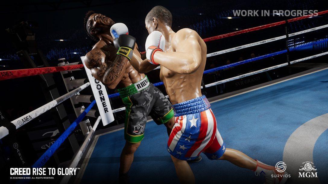 Creed: Rise to Glory Llegará a PS VR con el Joven Rocky Balboa en Exclusiva