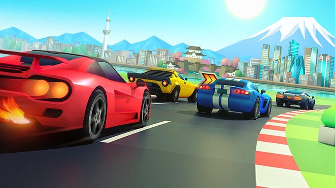 Horizon Chase Turbo se Lanza Hoy en PS4, Vean el Nuevo Tráiler