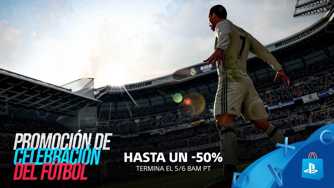 Ahorren hasta un 50% en la Promoción de Celebración del Fútbol de PS Store