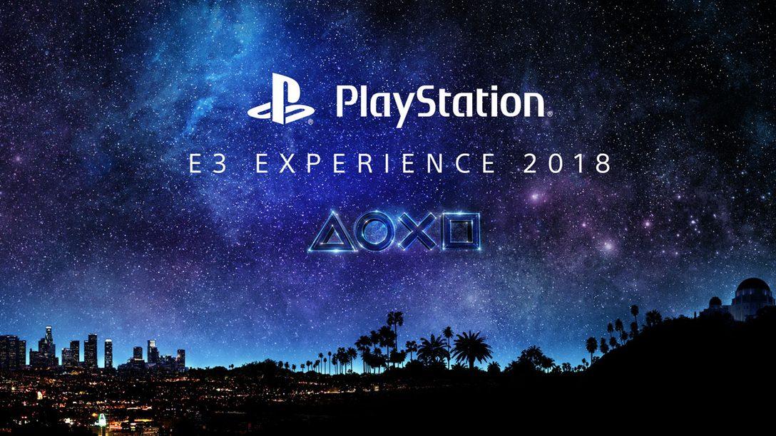 PlayStation E3 Experience 2018 llegará a América Latina