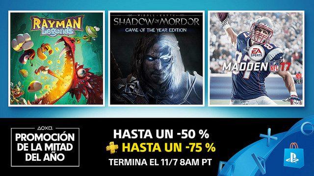 Dos Semanas de Grandes Descuentos en la Promoción de Mitad del Año de PS Store