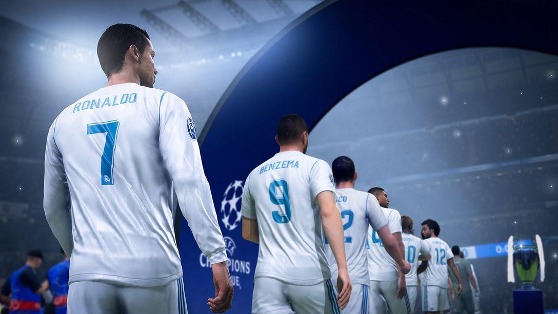 Los Campeones Surgen en FIFA 19, Espérenlo en PS4 el 28 de Septiembre
