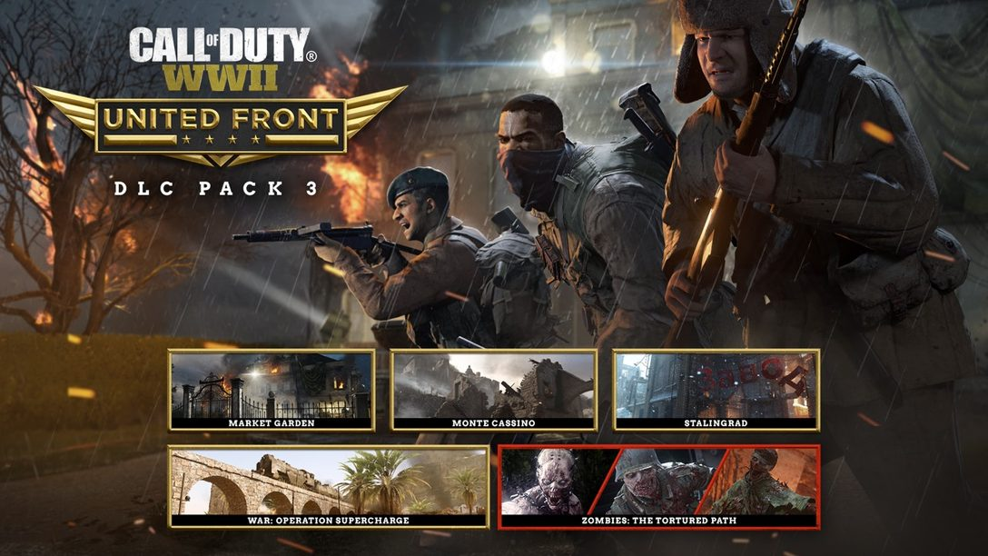 Anunciado Call of Duty: United Front, el Tercer Paquete DLC de Call of Duty: WWII