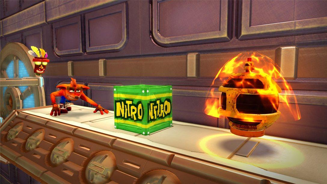 Crash Bandicoot N. Sane Trilogy Recibe un Nuevo Nivel, HDR y Carga Más Rápida