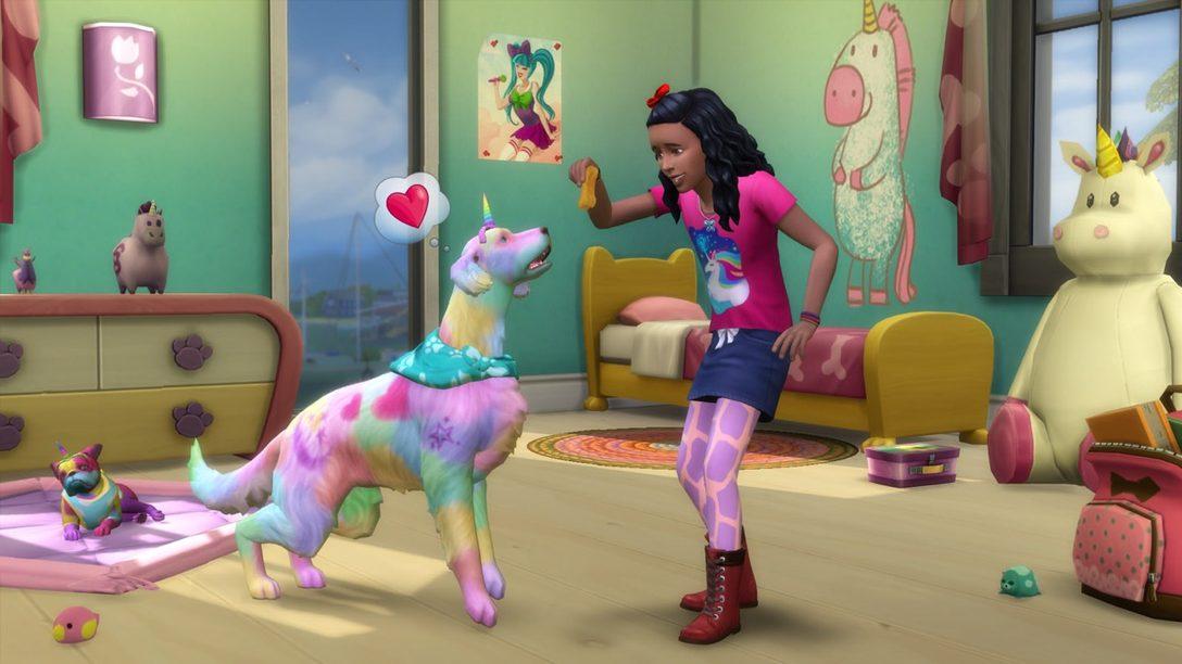 The Sims 4 Cats & Dogs Llega Mañana a PS4