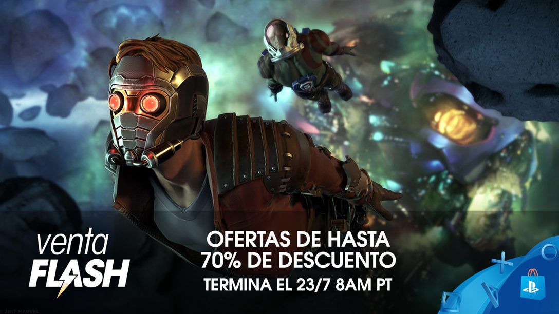Venta Flash: Ahorren hasta 70% en PS Store