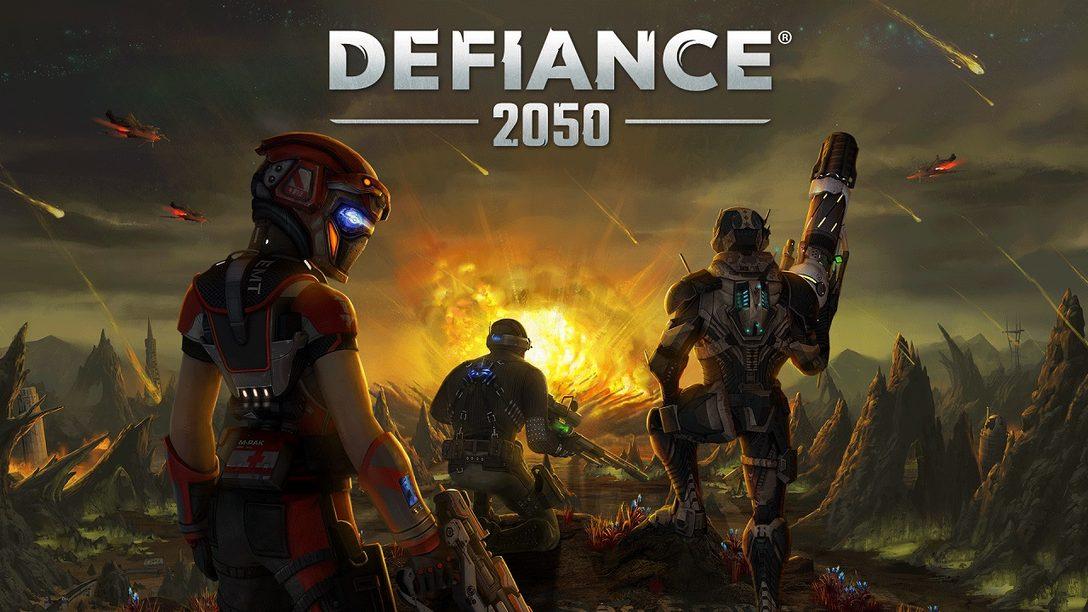 Defiance 2050 Está Disponible Desde Hoy para Fundadores