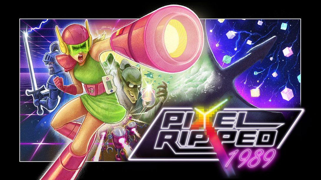 Pixel Ripped 1989 llega hoy a PS VR