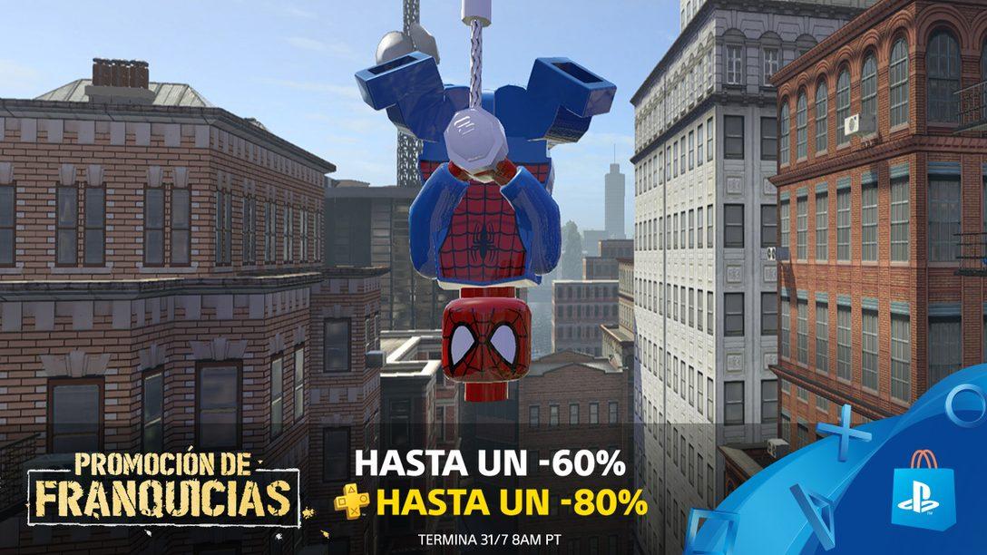 Promoción de Franquicias de PS Store: Hasta 60% de Descuento (80% para PS Plus)