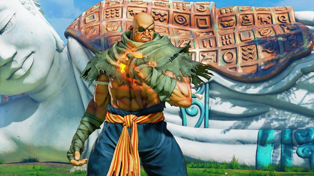 G y Sagat se Unen Hoy a la Lista de Peleadores de Street Fighter V: Arcade Edition