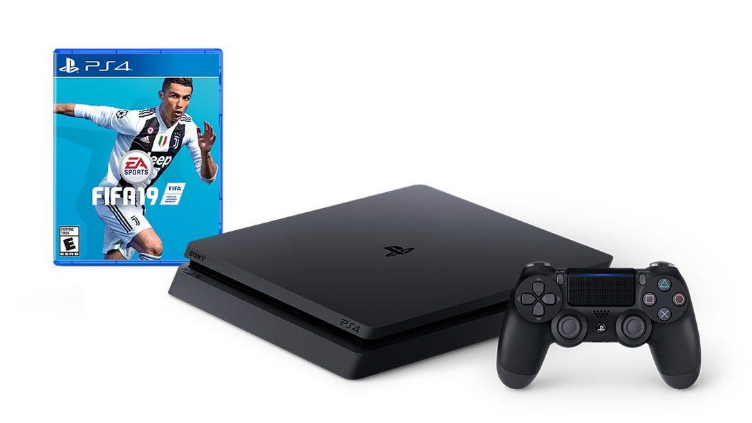 Presentamos el Bundle PS4 FIFA 19