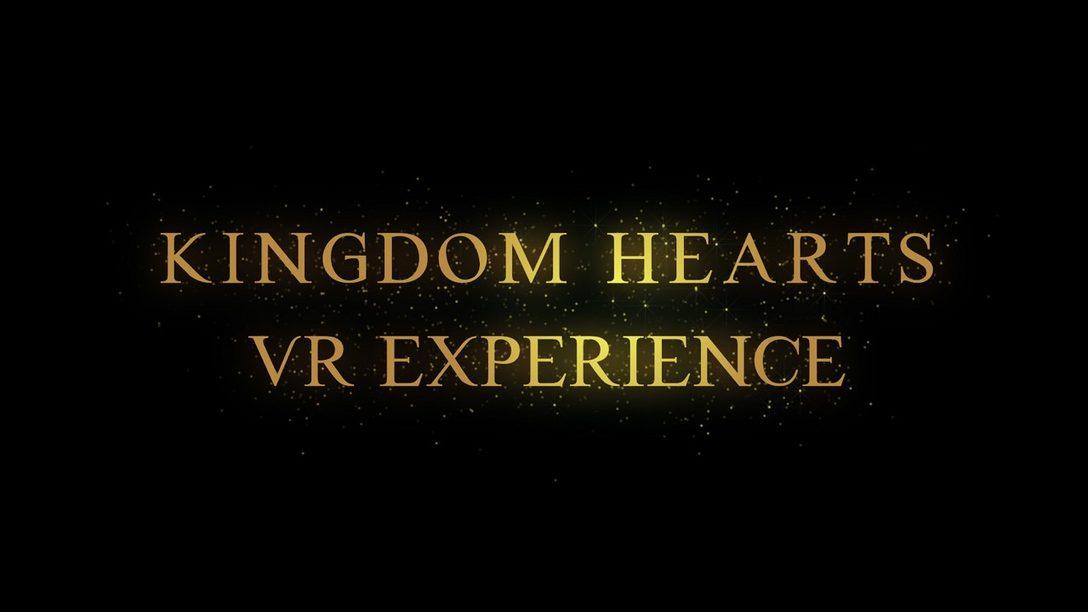 Una Experiencia VR Gratuita de Kingdom Hearts Llegará a PS VR a Fin de Año