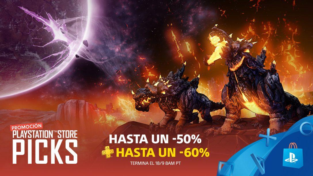 Con la Promoción PlayStation Store Picks Ahorren hasta 50% Durante Toda la Semana