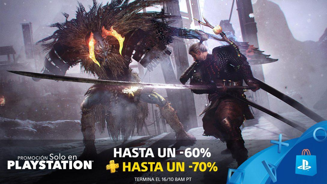 La Promoción Solo en PlayStation trae Ofertas de hasta 60% en Juegos Exclusivos en PS Store