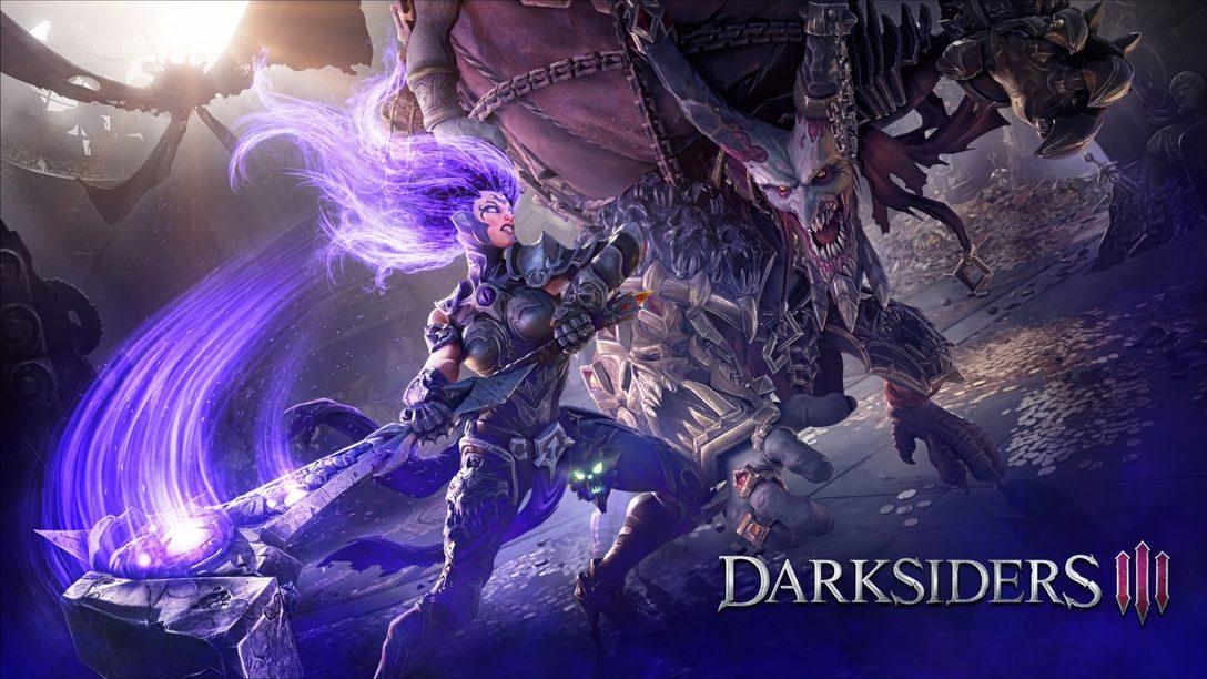 Darksiders III: Así es como Fury Redefine La Progresión de los Jugadores