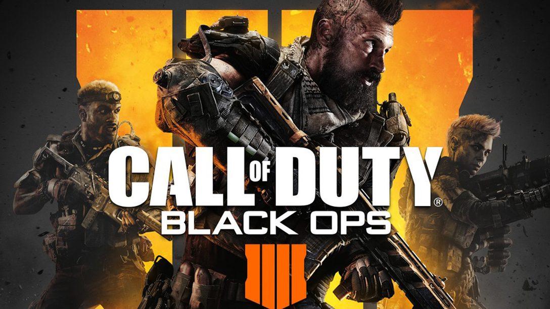 Call of Duty: Black Ops 4 Ha Llegado, Experimenten el Nuevo Contenido Primero en PS4