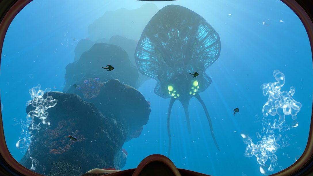 El Terror en lo Profundo del Mar de Subnautica