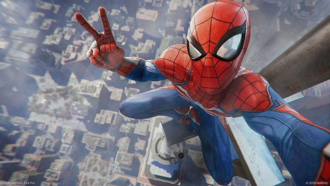 Editor's Choice: Por Qué Marvel's Spider-Man es uno de los Mejores Juegos de 2018