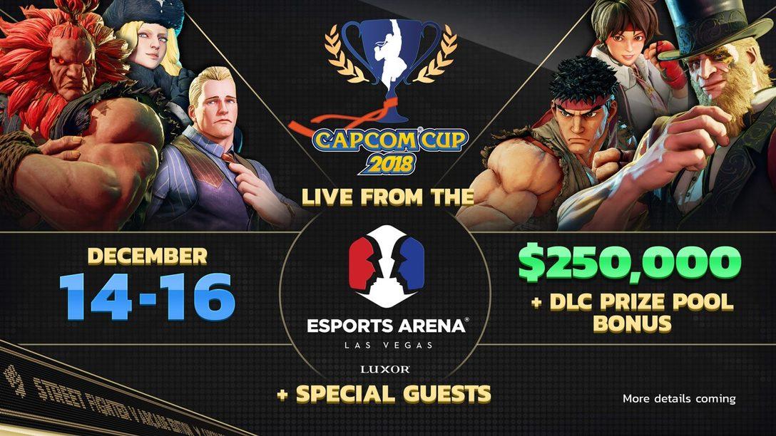 Detalles de Capcom Cup 2018 y Prueba Gratis de Street Fighter V: Arcade Edition en PS4
