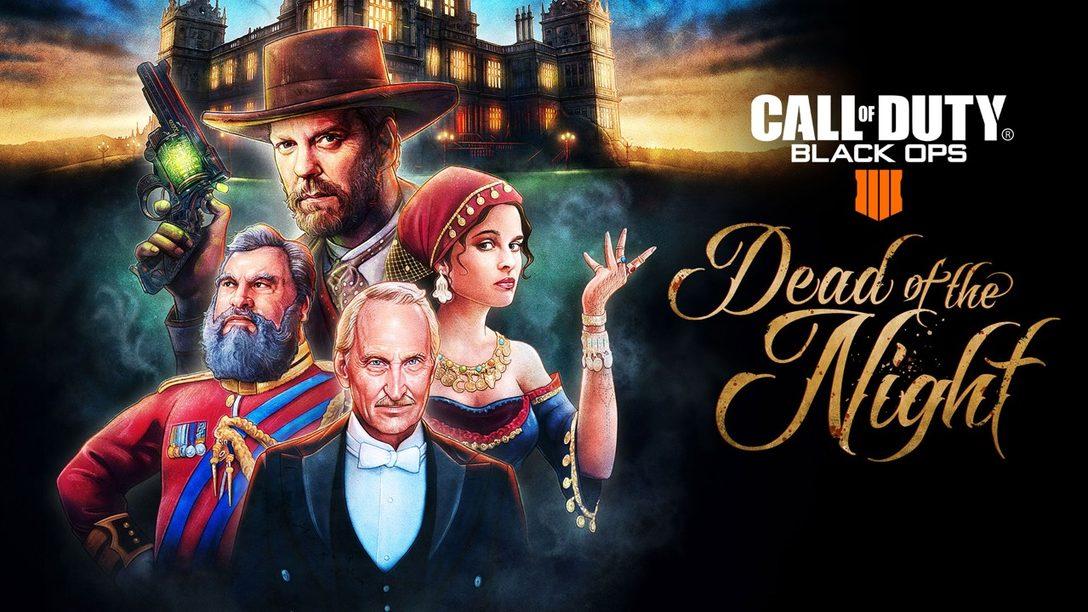 "CoD: Black Ops Pass Agrega La Experiencia de Zombies ""Dead of the Night"" – PlayStation.Blog LATAM"