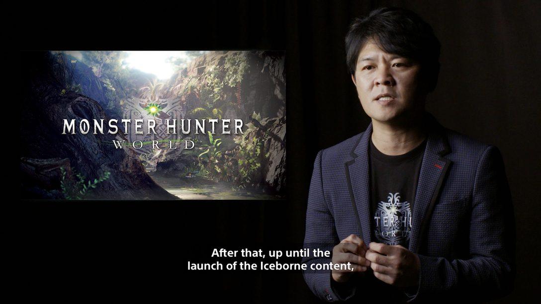 Entrevista: Capcom Comparte los Primeros Detalles sobre Monster Hunter World: Iceborne