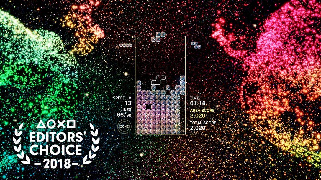 Editor's Choice: Por Qué Tetris Effect Tetris es uno de los Mejores Juegos de 2018