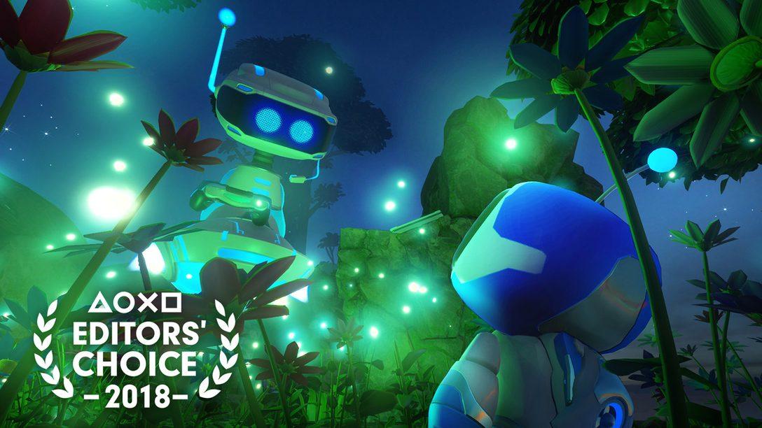 Editor's Choice: Por Qué Astro Bot Rescue Mission es uno de los Mejores Juegos de 2018