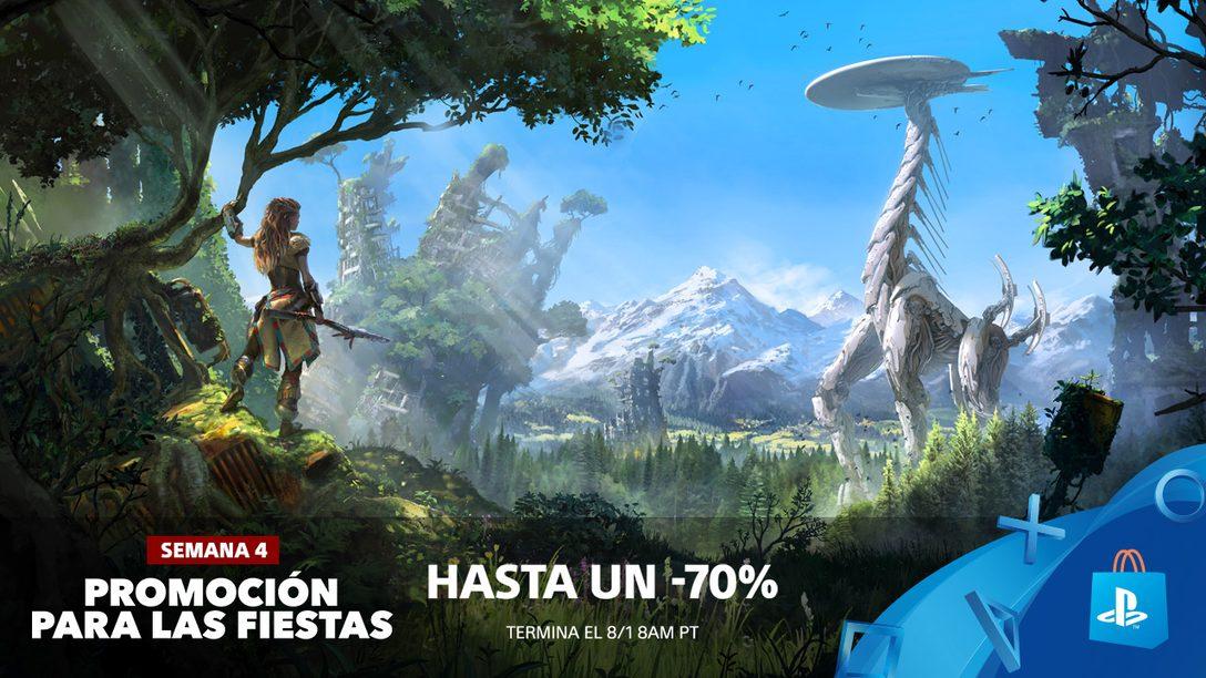 ¡Promoción para las Fiestas! Ahorren Hasta 70% en Más de 500 Juegos