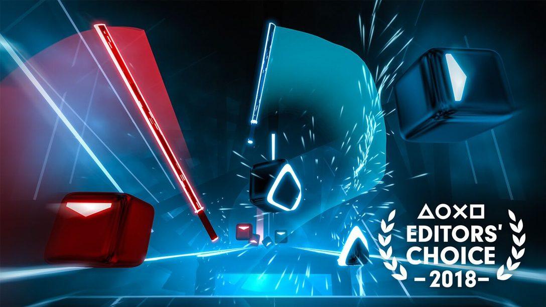 Editor's Choice: Por qué Beat Saber es uno de los Mejores Juegos de 2018