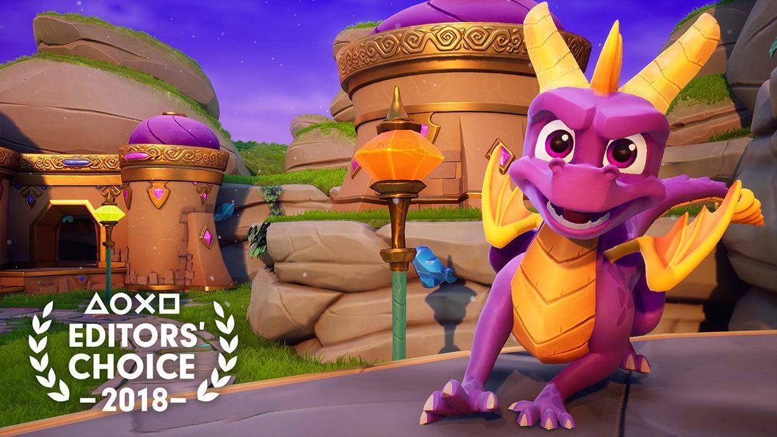 Editor's Choice: Por Qué Spyro Reignited Trilogy es uno de los Mejores Juegos de 2018