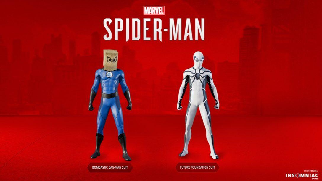 Marvel's Spider-Man Recibe Dos Fantásticos Nuevos Trajes Hoy
