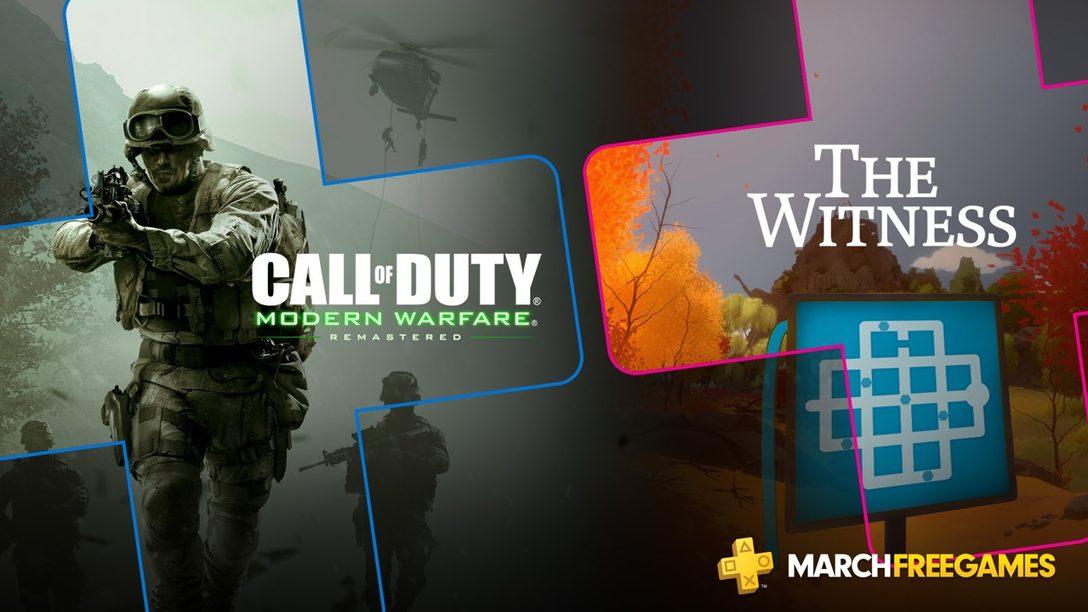 PlayStation Plus: Juegos Gratis para Marzo de 2019