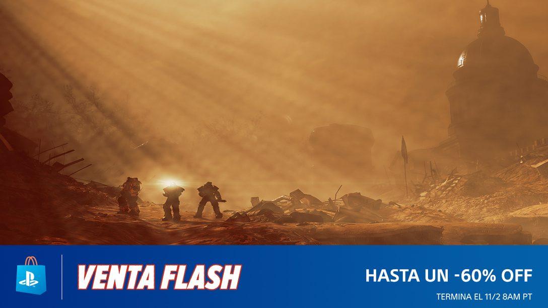 La Venta Flash de PS Store ya Empezó con Descuentos de Hasta el 60%