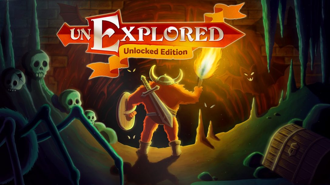 El RPG de Acción Roguelite, Unexplored: Unlocked Edition, se Aventura a PS4 el 19 de febrero