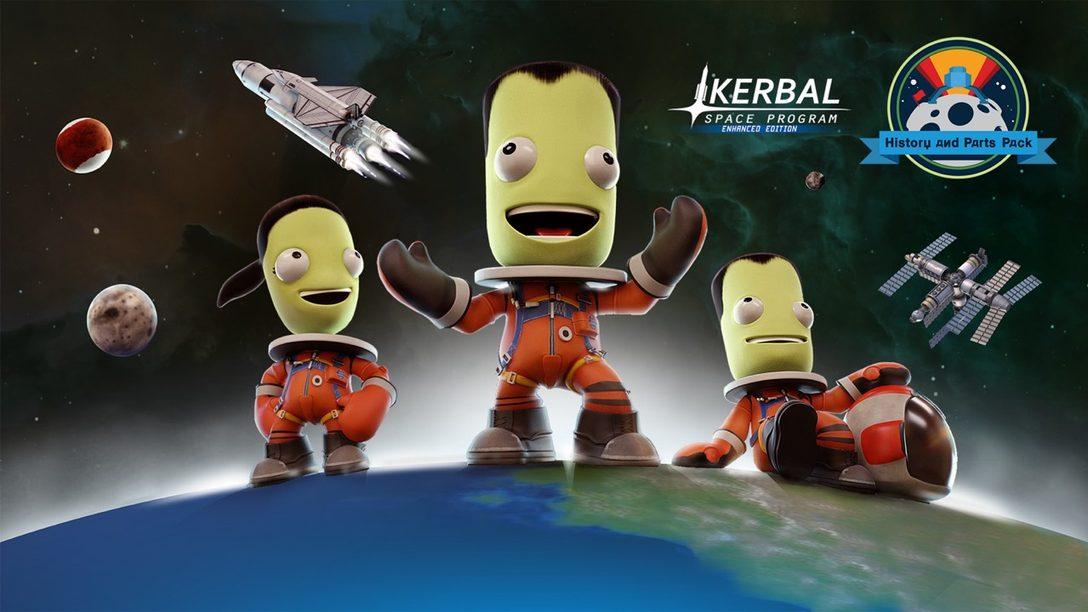 Kerbal Space Program Enhanced Edition Recibe DLC y Actualización Gratuita Mañana
