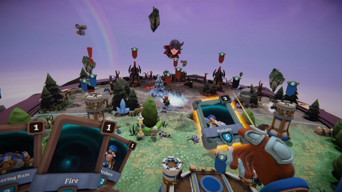 Conquisten el Campo de Batalla VR en Skyworld, Disponible el 26 de marzo en PS VR