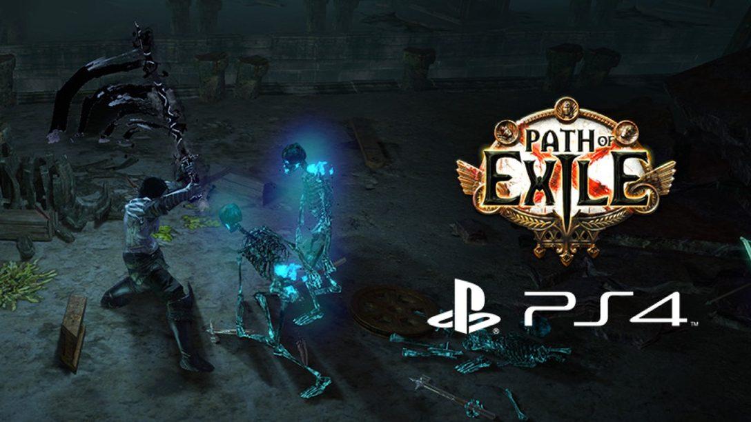 El RPG de Acción, Path of Exile, se Estrena Hoy en PS4