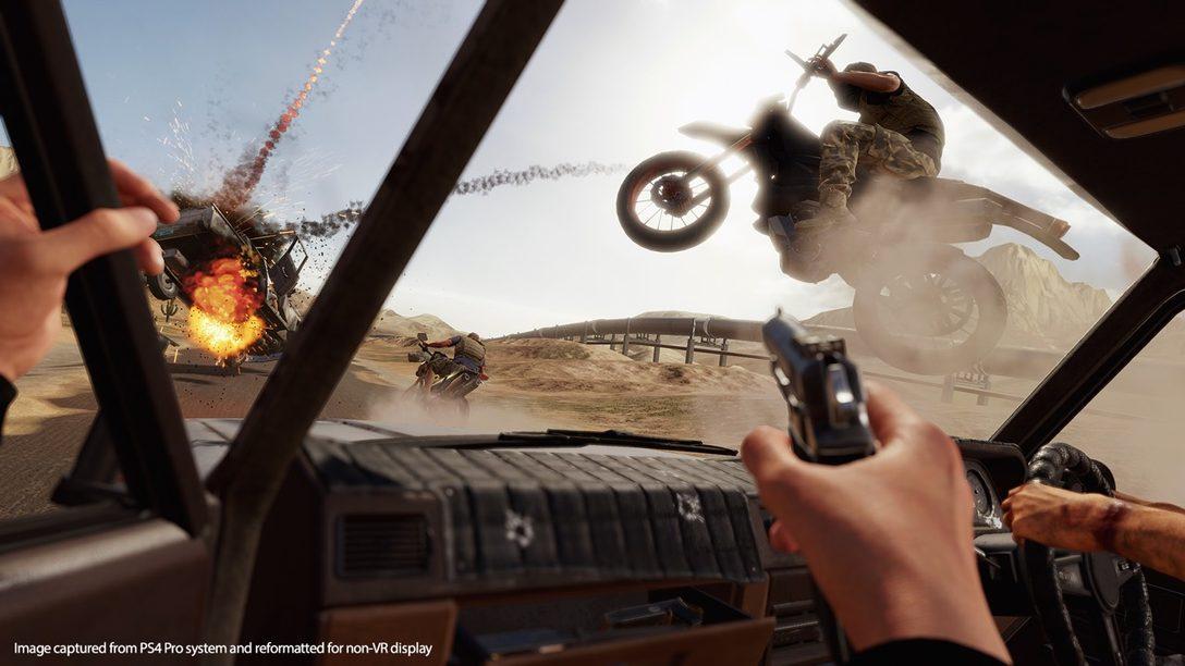 Blood & Truth Trae a la Vida Momentos de Película de Acción en PS VR