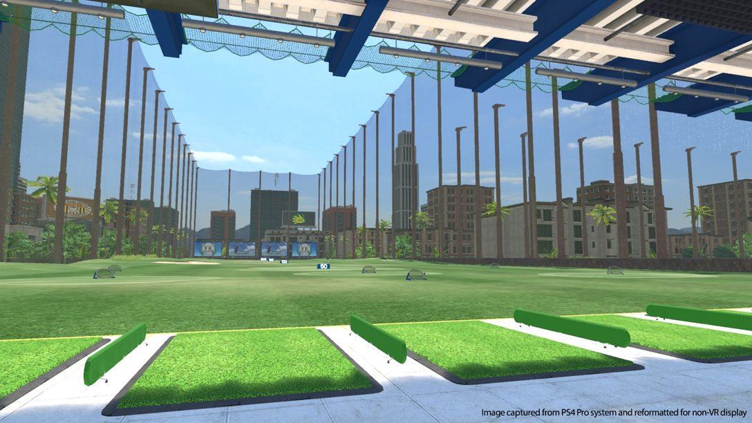 Everybody's Golf dará sus Primeros Golpes en PlayStation VR el 21 de mayo