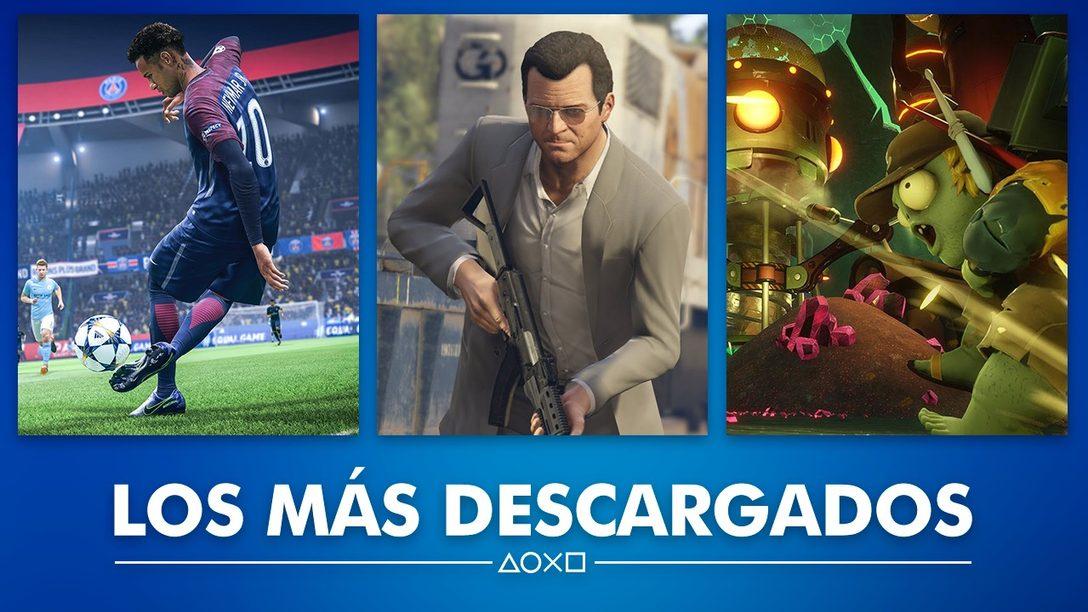 Lo Más Descargado durante Marzo en PlayStation Store