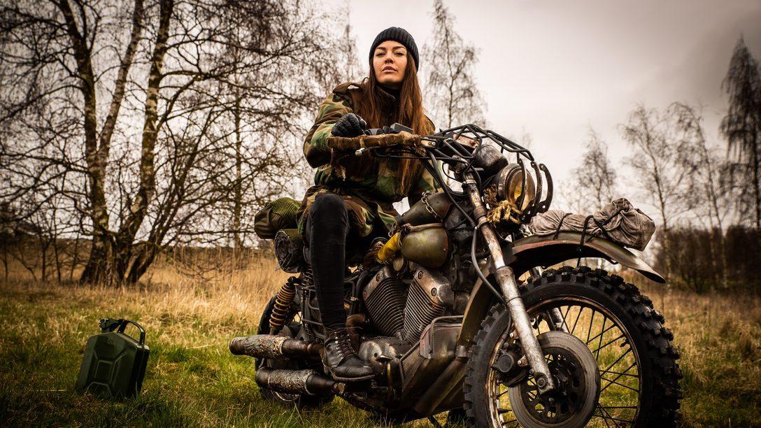Days Gone: Reconstruyendo la Motocicleta de Deacon en la Vida Real