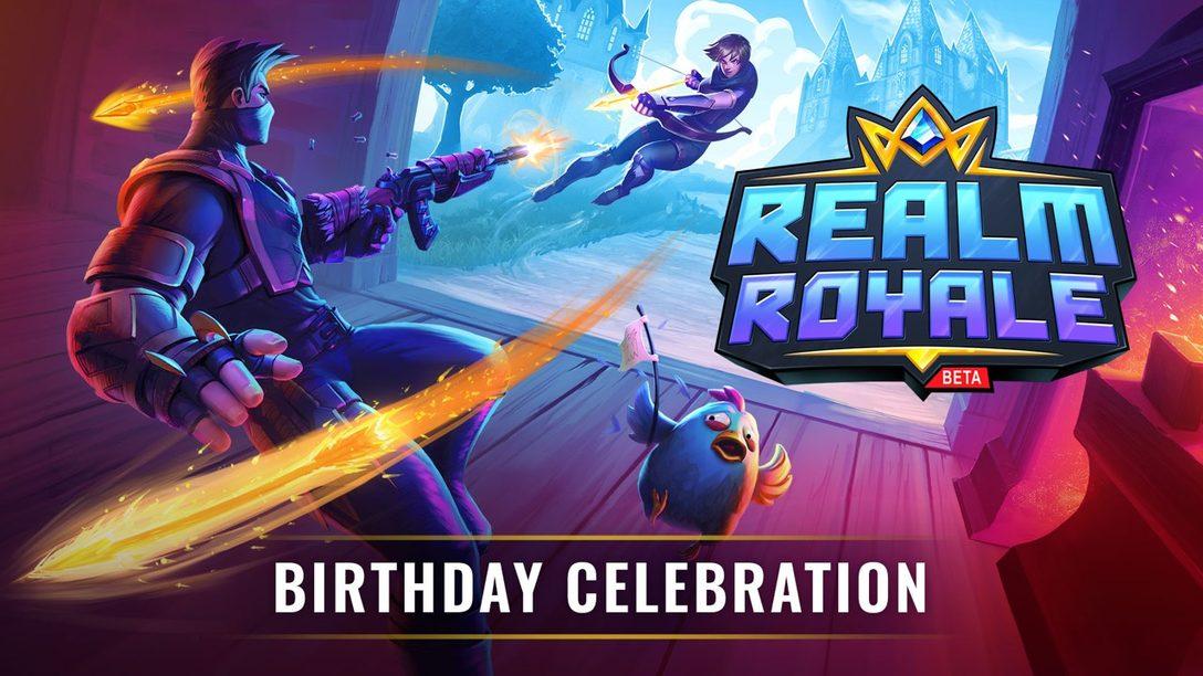 Realm Royale Celebra su Primer Cumpleaños con Actualizaciones y Regalos